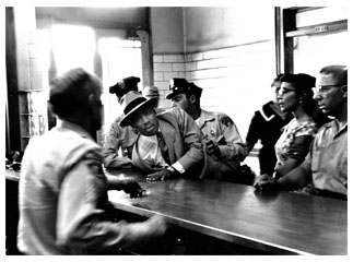 Martin Luther King, Jr. at Lunch Counter